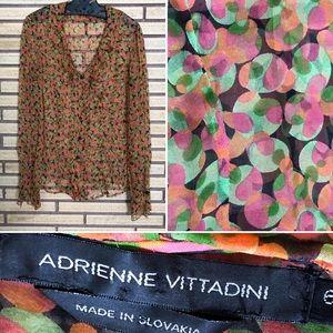 Floral Adrienne Vittadini Blouse - 6